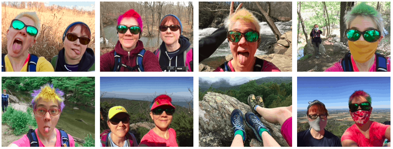 2020 Hiking Faces